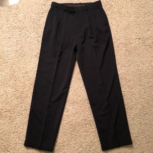 Men's Haggar Black Dress Pants